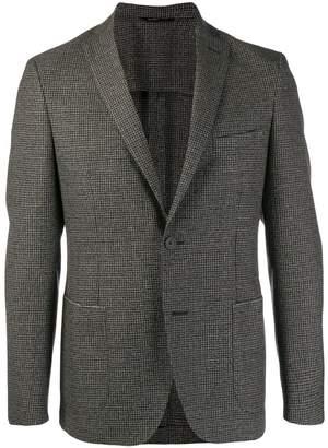 Tonello houndstooth check blazer