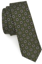 The Tie Bar Men's Floral Medallion Wool Tie