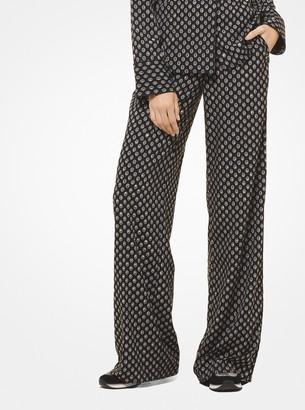 MICHAEL Michael Kors Studded Medallion Pajama Pants