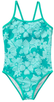 Arctic Freeze Floral One-Piece - Girls