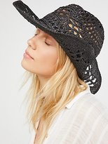 Ale By Alessandra Caballera Straw Cowboy Hat by 'ale by Alessandra at Free People