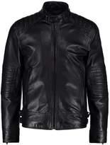 Strellson Corus Leather Jacket Black