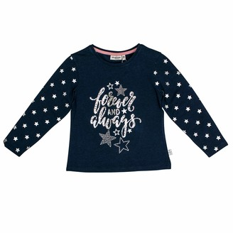 Salt&Pepper Salt and Pepper Girls' Daydream Forever Glitzerprint Longsleeve T-Shirt
