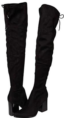 Marc Fisher Octavie (Black/Super Fine Suede) Women's Shoes