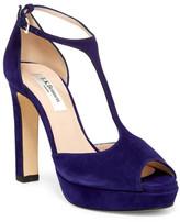LK Bennett Baleigh Peep Toe Platform Sandal