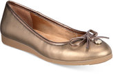 Giani Bernini Odeysa Memory Foam Ballet Flats, Only at Macy's