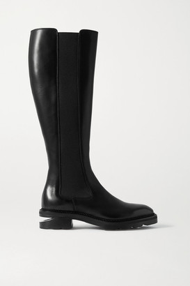 Alexander Wang Andy Leather Knee Boots - Black