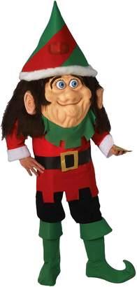 Forum Novelties Men's Parade Pleasers Santa's Elf Big Head Costume