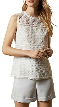 Ted Baker Adriene Lace-Paneled Top