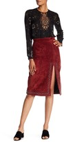 A.L.C. Aimee Suede Skirt