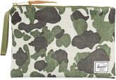 Herschel camouflage print coin pouch