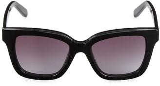 Salvatore Ferragamo 53MM Square Sunglasses