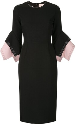 Roksanda Layered Sleeve Dress