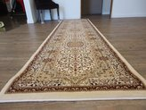 Rug Factory Plus ~2 Ft. x 8 Ft. Traditional Ivory Authentic Living Room Runner