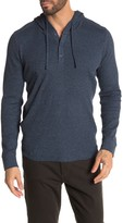 Vince Hooded Thermal Long Sleeve Henley