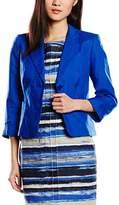 Precis Petite Women's Colbalt Classic Jacket,8