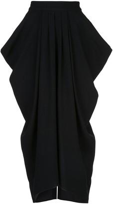 Proenza Schouler Draped Long Skirt