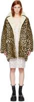 R 13 Brown Leopard Hunting Coat