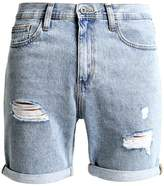 Pier 1 Imports Denim shorts light blue