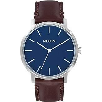 Nixon Unisex Adult Analogue Quartz Watch with Leather Strap A1058-879-00