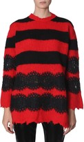 Philosophy di Lorenzo Serafini striped maxi pull