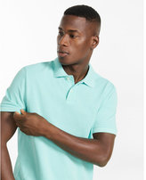 Express modern fit small lion pique polo