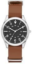 Merona Men's Field Strap Watch - Brown