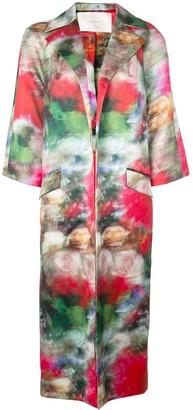 Adam Lippes Floral Coat