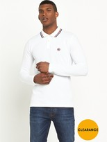 Pretty Green Long Sleeve Polo Shirt