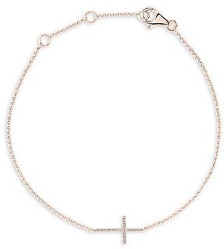 Effy 14K Rose Gold Diamond Bracelet