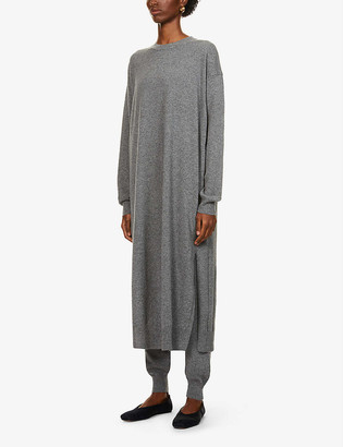 The Row Anibale cashmere midi dress