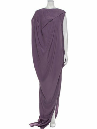 Rick Owens 2017 Long Dress Purple