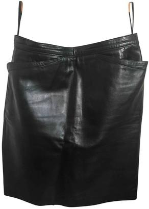 Agnã ̈S B. AgnAs B. Black Leather Skirts