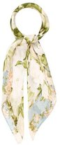 Chanel Floral Print Scarf