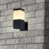 "Bronx Tingsley LED Outdoor Armed Sconce Ivy Size: 11""H x 4.75""W x 7.5""D"