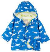 Hatley Colour Changing Dinosaur Menagerie Mini Raincoat