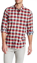 Nautica Long Sleeve Plaid Slim Fit Shirt