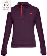 Under Armour Women's Featherweight Fleece Funnel With $10 Rue Credit