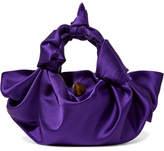 The Row Ascot Small Satin Tote - Purple