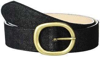 Leather Rock Ali Belt (Black) Women's Belts
