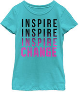 Fifth Sun Tahiti Blue 'Inspire Change' Tee - Girls