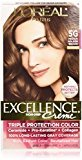 L'Oreal Exc H/C Gld Brn #5g R Size 1ct Excellence Creme Hair Color Medium Golden Brown #5g