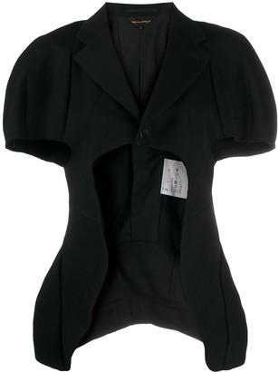 Comme des Garcons Deconstructed Cut-Out Jacket