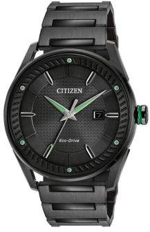 Citizen Drive Ion-Plated Stainless Steel Bracelet Watch, BM6985-55E