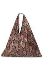 MM6 MAISON MARGIELA Japanese Snake-print Tote Bag