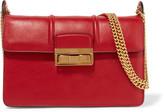 Lanvin Jiji Small Leather Shoulder Bag - Red