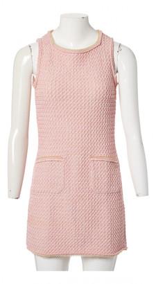 Chanel Pink Silk Dresses