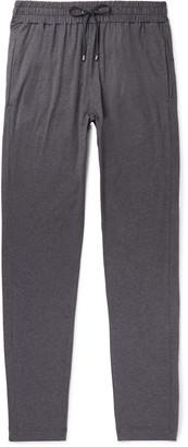 Zimmerli Melange Stretch Cotton And Cashmere-Blend Sweatpants