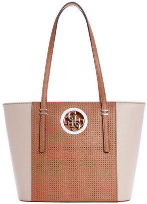 GUESS PR718622TNMIDDB Open Road Double Handle Tote Bag