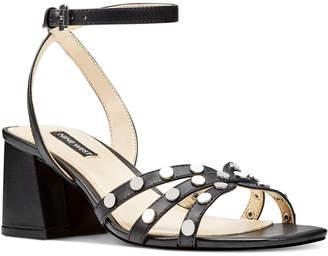 Nine West Gale Studded Sandals Women Shoes